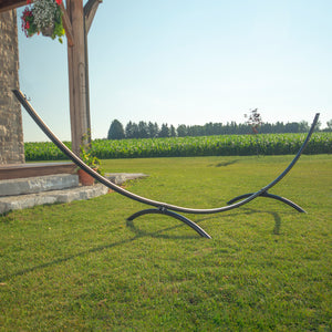 15ft Arc Steel Hammock Stand