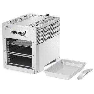 NorthFire Propane Infrared Grill-Double, Inferno2, Silver