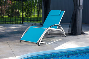Dockside Sun Lounger - Aluminum