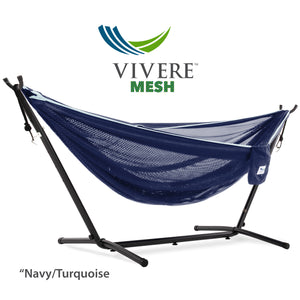 Single Mesh Hammock with Stand (9ft/280cm)