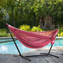 Load image into Gallery viewer, Single Mesh Hammock with Stand (9ft/280cm)