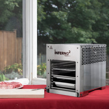 Load image into Gallery viewer, NorthFire Propane Infrared Grill-Double, Inferno2, Silver