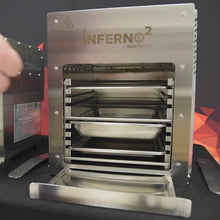 Load and play video in Gallery viewer, NorthFire Propane Infrared Grill-Double, Inferno2, Silver
