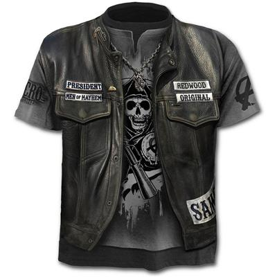 Totenkopf T-shirt Samcro Sons of Anarchy