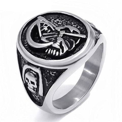 Totenkopf Ring Sons of Anarchy