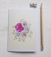 Bloom Where You Are Planted - A6 lined notebook