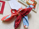 4 Christmas hair bows. Handmade gift for girls (big or little!)