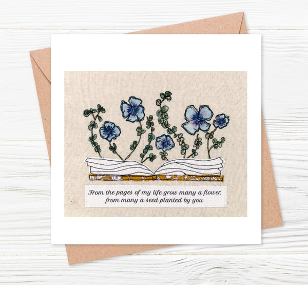 'Many Flowers' Square Print With Envelope