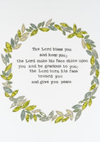 The Blessing Garland A5 Postcard