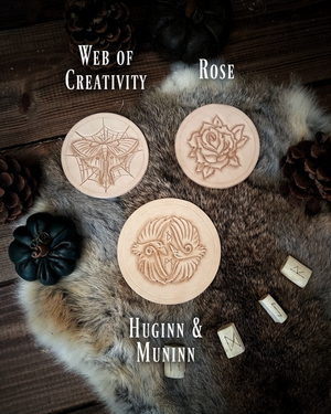 Coaster Set: Crafter's Kit