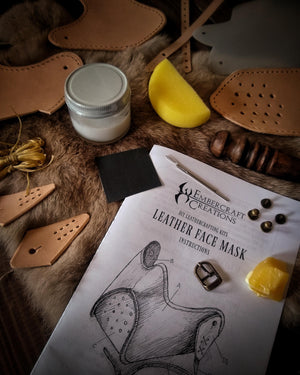 DIY Leather Face Mask Kit