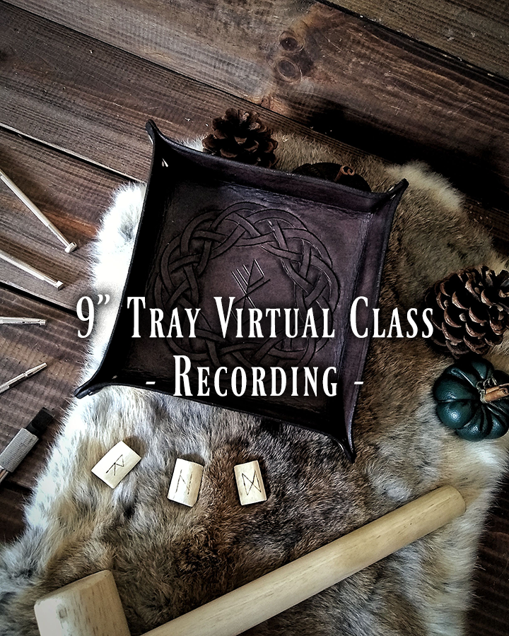 9 Inch Valet Tray Virtual Class Recording