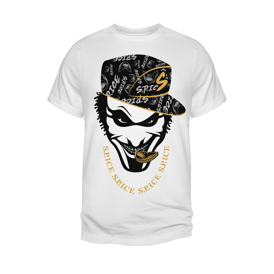 S.P.ICE Men's Designer Graphic O-Neck T-Shirt