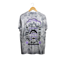 Load image into Gallery viewer, Anxiety Silver Dye Tee