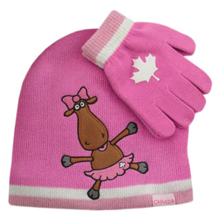 Canada Sport Warm Winter Hat Beanie and Gloves for kids - Souvenir Du Quebec
