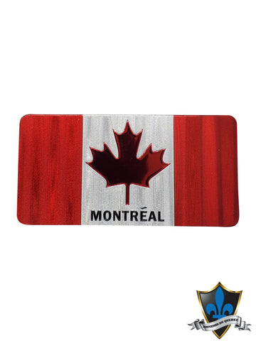 Canada flag  magnet with montreal - Souvenir Du Quebec, Maple Syrup, Souvenirs, Montreal