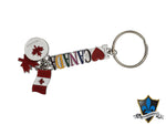 I love Canada  Key with Canadian maple leaf keychain. - Souvenir Du Quebec, Maple Syrup, Souvenirs, Montreal