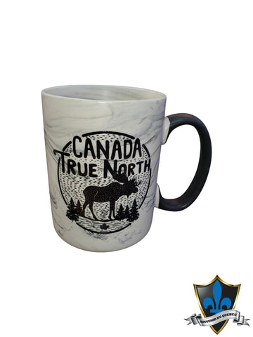 CANADA TRUE NORTH COFFE MUG - Souvenir Du Quebec