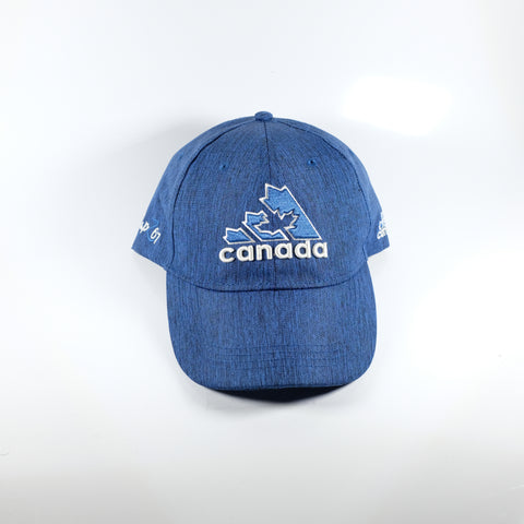 Canada Maple Leaf Cap Heathered Blue Or Pink