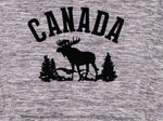 Heather Grey Moose Hoodie