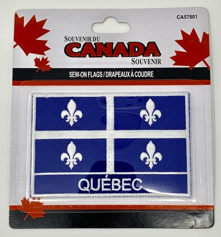 Quebec Flag Patch - Souvenir Du Quebec, Maple Syrup, Souvenirs, Montreal