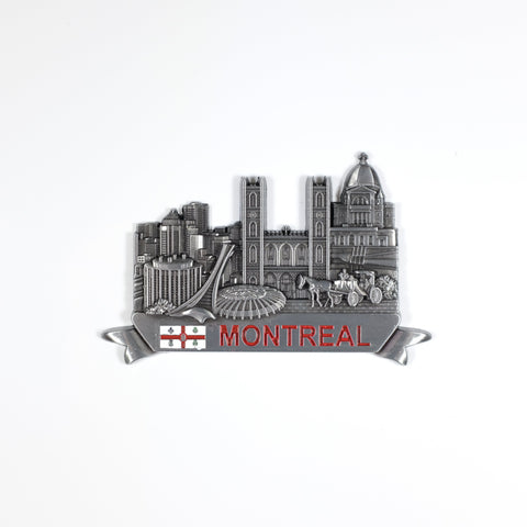 Chrome Montreal Sites Magnet