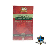 Box Of 25 Icewine Herbal Tea Bags - Souvenir Du Quebec, Maple Syrup, Souvenirs, Montreal