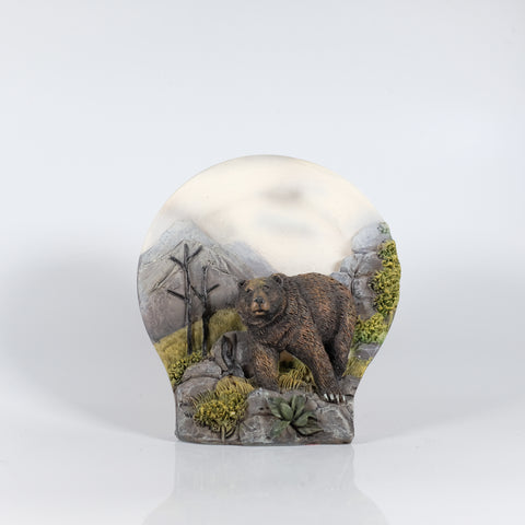 Bear in Woods Figure
