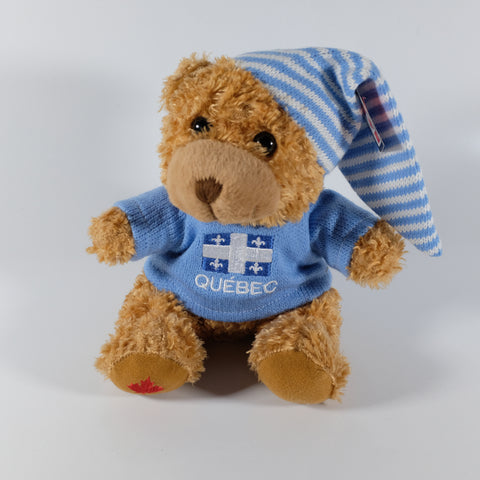 Brown Bear in Quebec Sweater