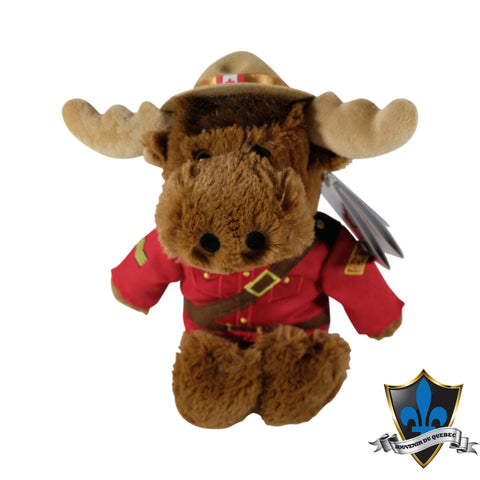 Canadian Brown Moose Mountie from Canada. - Souvenir Du Quebec, Maple Syrup, Souvenirs, Montreal