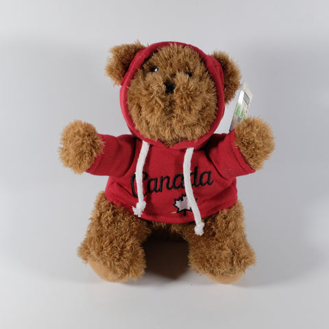 Bear With Canada Hoodie
