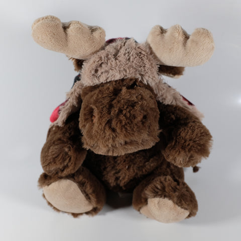 Moose With Winter Hat