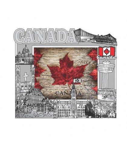 Canada Photo Frame Magnet