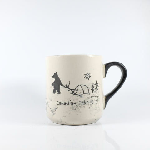 Canadian take out marble mug. - Souvenir Du Quebec, Maple Syrup, Souvenirs, Montreal