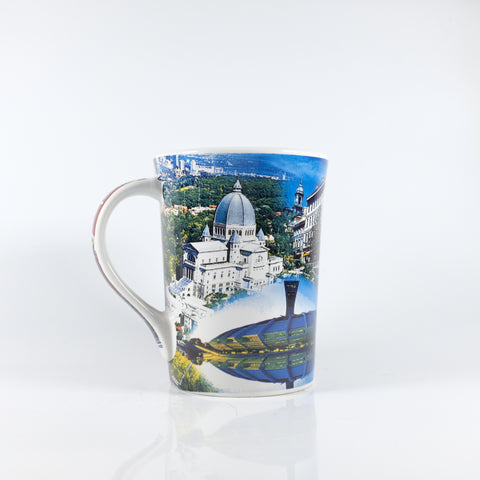 Blue Montreal Sites Mug