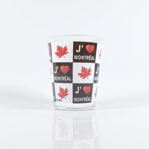 I Love Montreal Shotglass