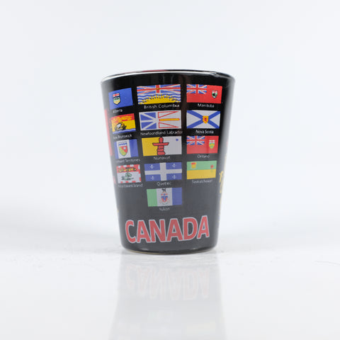 Province Flags Shotglass