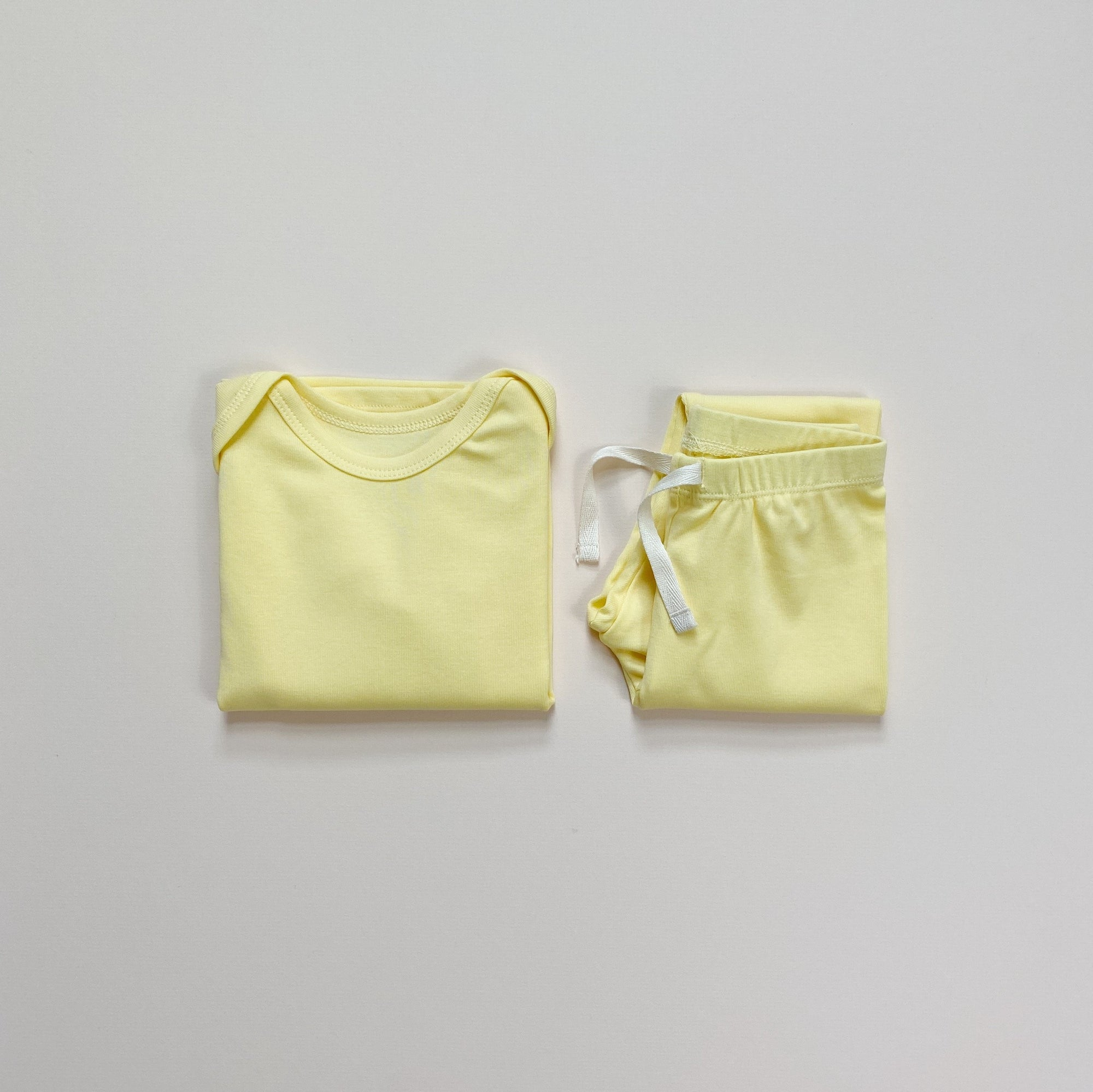 Long sleeve set -Mellow Yellow