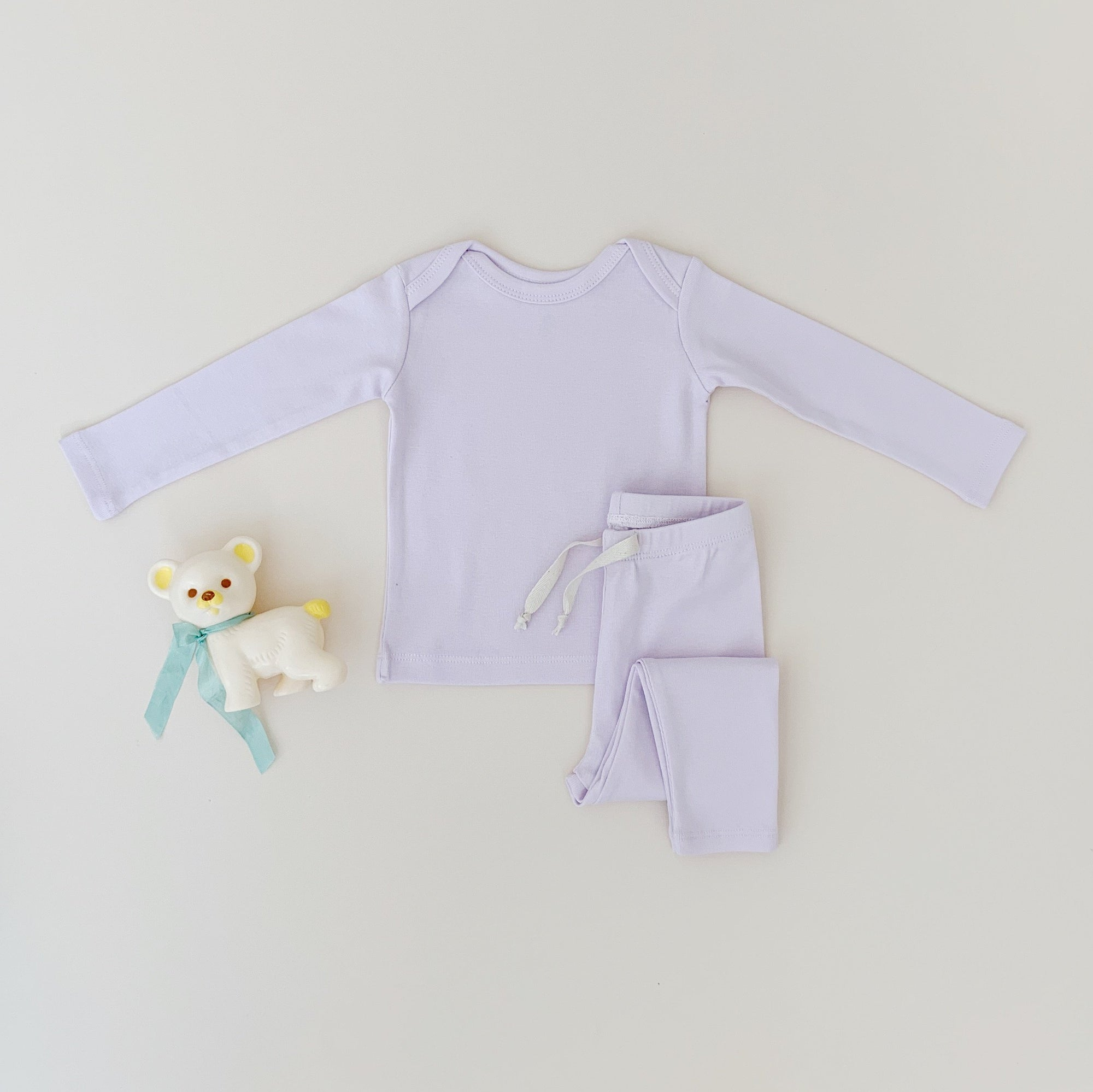 Long sleeve set - Lavender