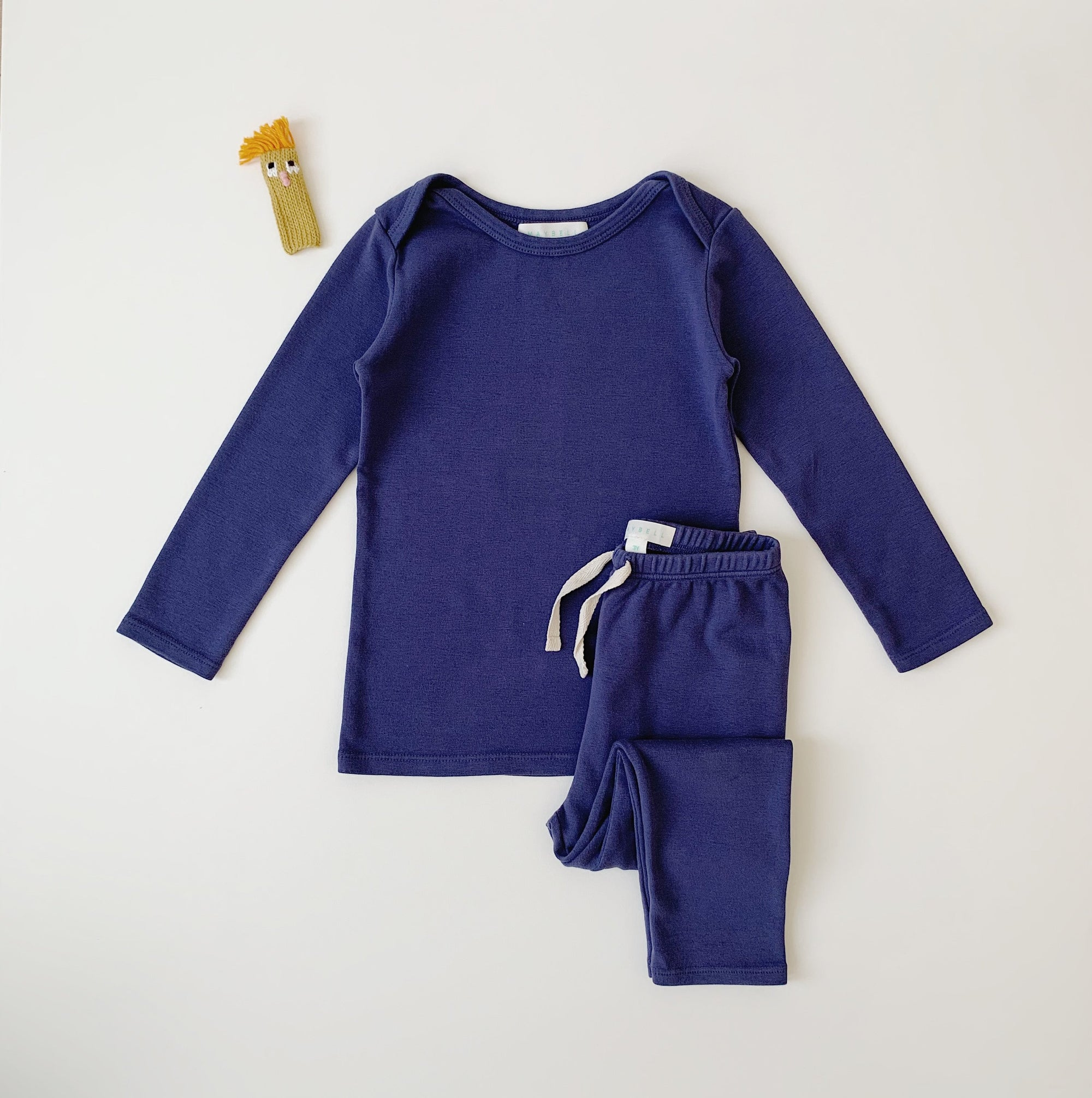 Long sleeve set- Navy
