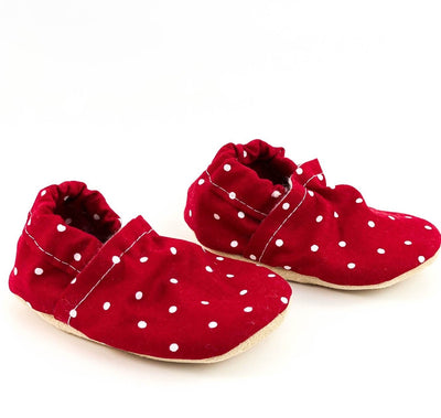 Red Dot Yeti Moccs