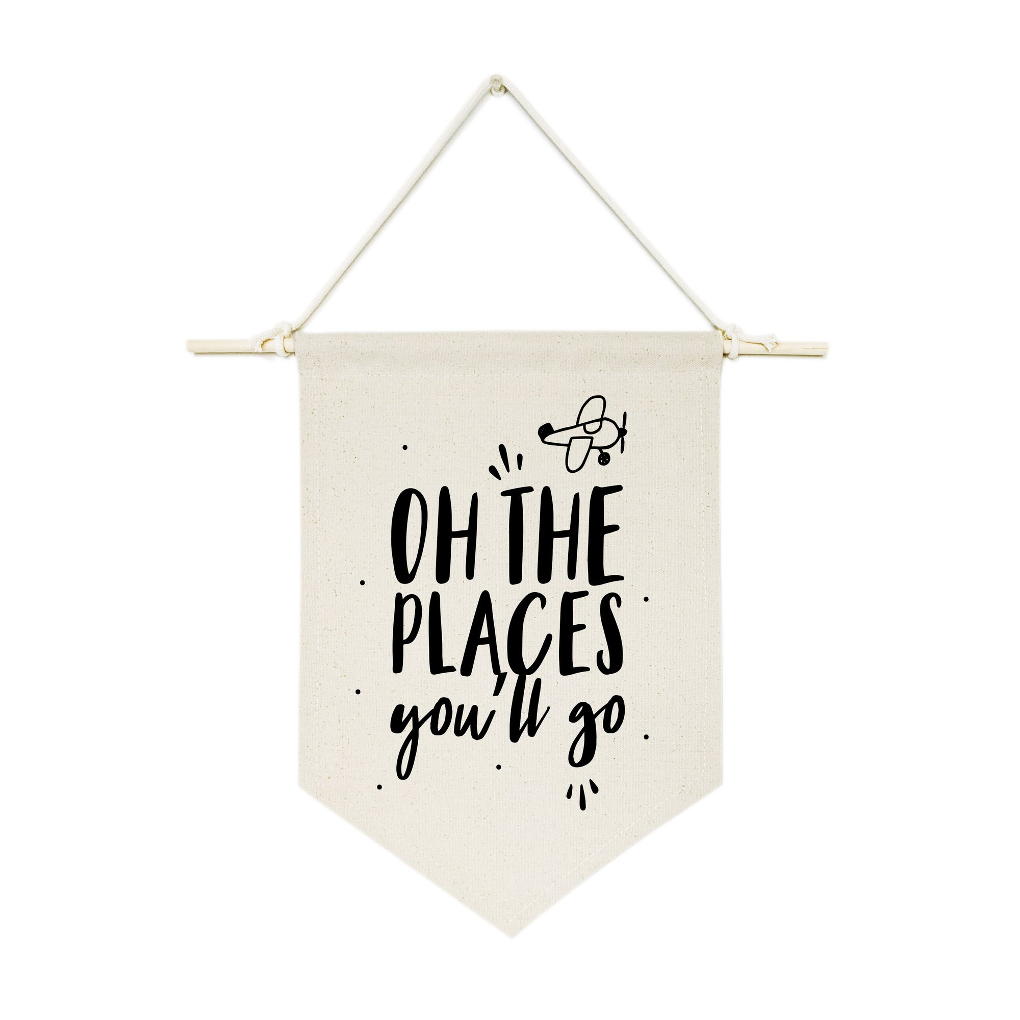 Oh the Places You'll Go Hanging Wall Banner