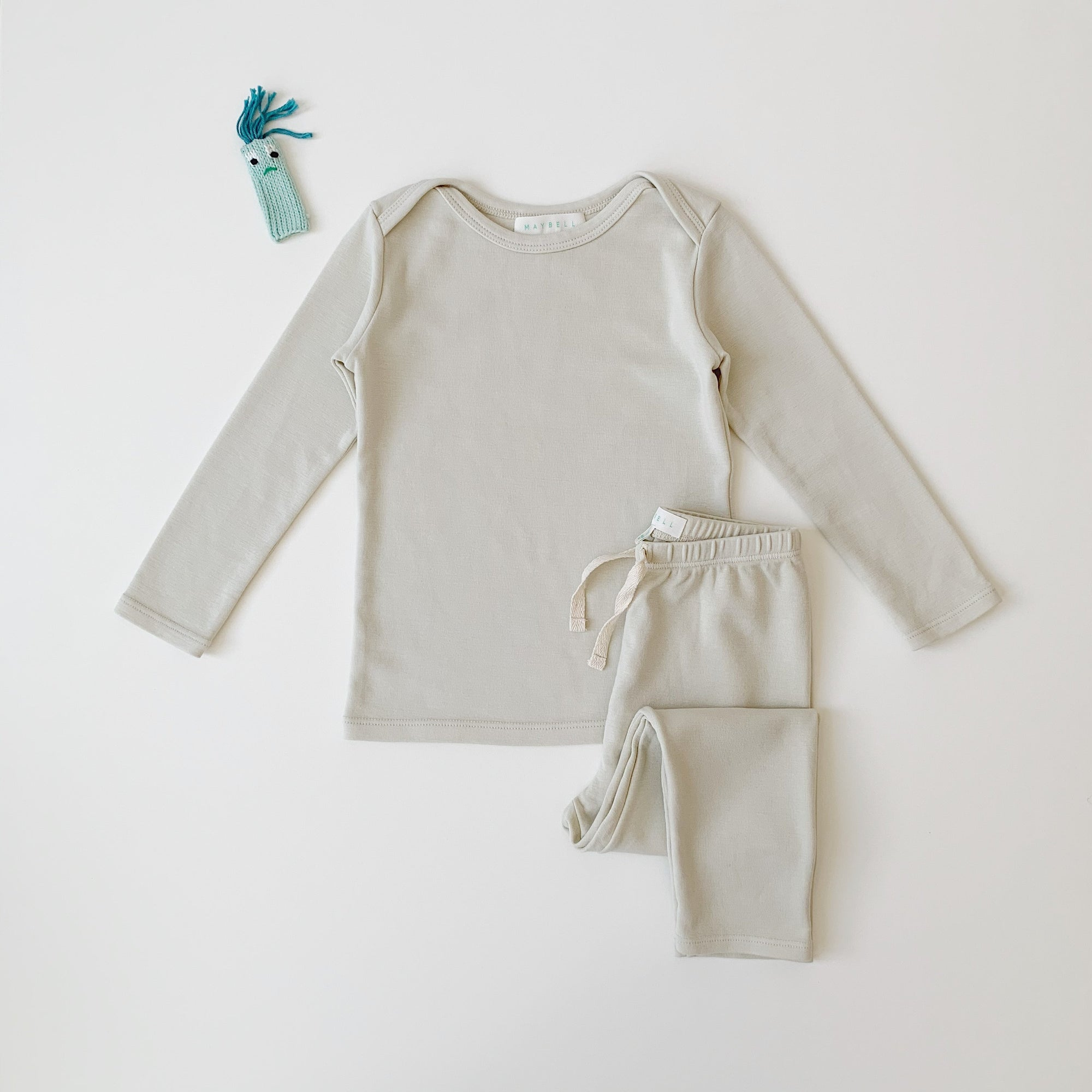 Long sleeve set- Cream