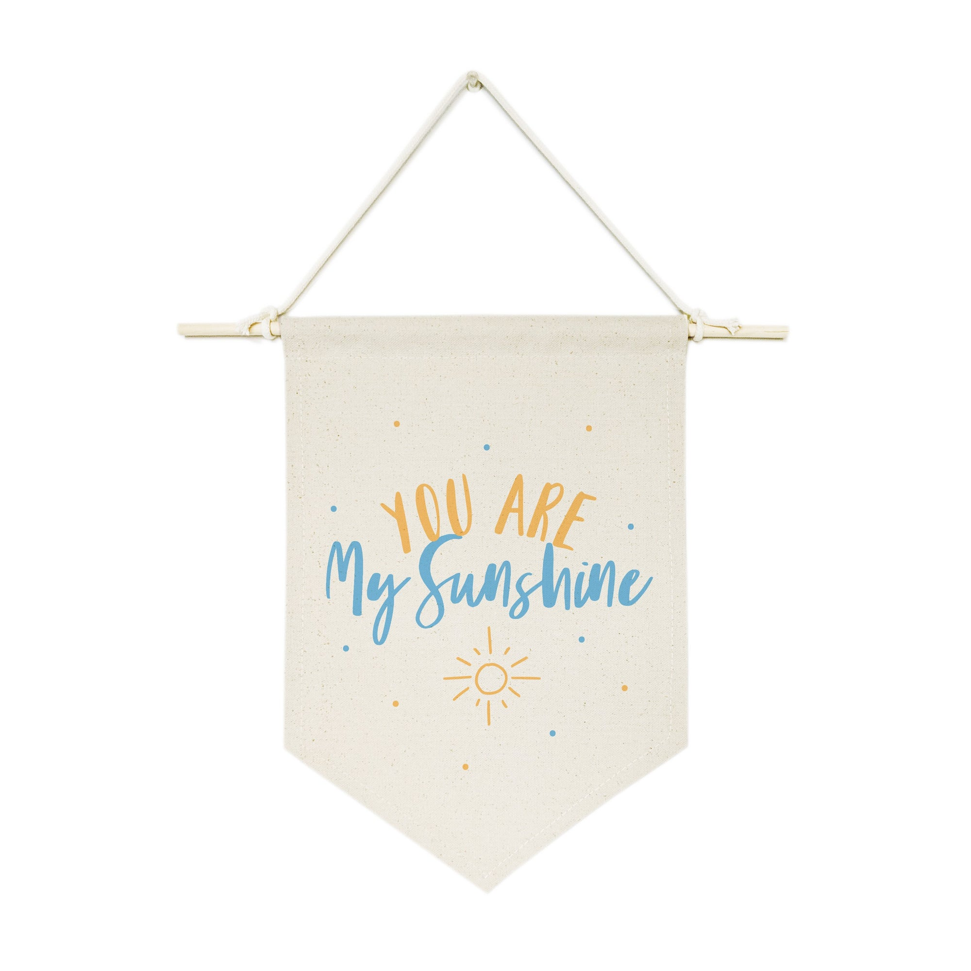 You Are My Shine, Blue and Yellow Hanging Wall Banner