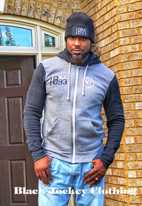 WILLE SIMMS 1893 BELMONT, NY HOODIE