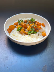 Rice Grits Risotto (Vegetarian)