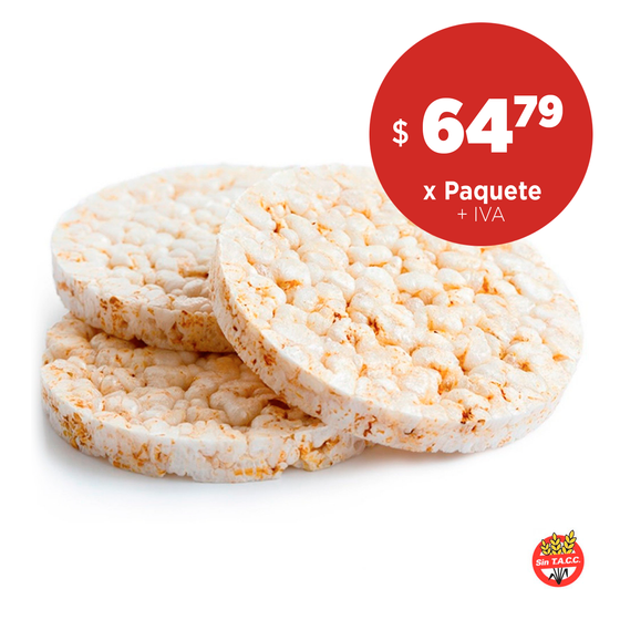 Galleta de Arroz Dulce x 12 Un de 90 Gr