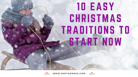 10 Easy Christmas Traditions to Start Now