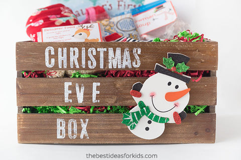 Delight the kids with a Christmas Eve Box