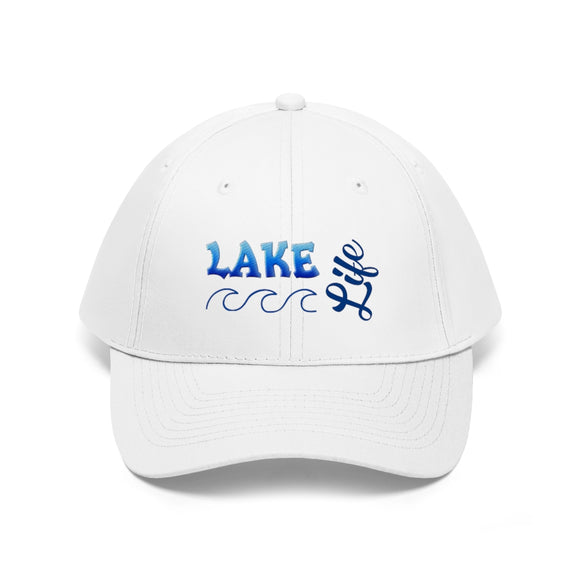 Lake Life Hat, Lake Life , Lake Life Cap, Lake Life Gear, Embroidered Hats
